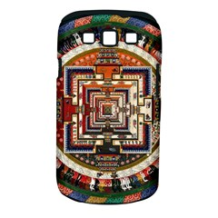 Colorful Mandala Samsung Galaxy S Iii Classic Hardshell Case (pc+silicone)