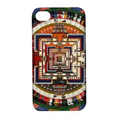 Colorful Mandala Apple Iphone 4/4s Hardshell Case With Stand