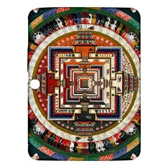 Colorful Mandala Samsung Galaxy Tab 3 (10 1 ) P5200 Hardshell Case  by BangZart