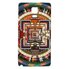 Colorful Mandala Galaxy Note 4 Back Case