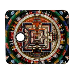 Colorful Mandala Galaxy S3 (flip/folio) by BangZart