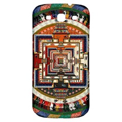 Colorful Mandala Samsung Galaxy S3 S Iii Classic Hardshell Back Case by BangZart