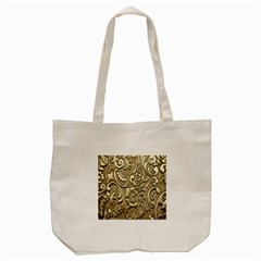 Golden European Pattern Tote Bag (cream)