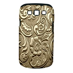 Golden European Pattern Samsung Galaxy S Iii Classic Hardshell Case (pc+silicone)