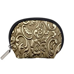 Golden European Pattern Accessory Pouches (small)  by BangZart