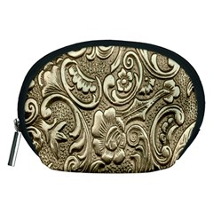 Golden European Pattern Accessory Pouches (medium)  by BangZart