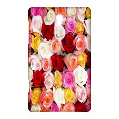 Rose Color Beautiful Flowers Samsung Galaxy Tab S (8 4 ) Hardshell Case  by BangZart