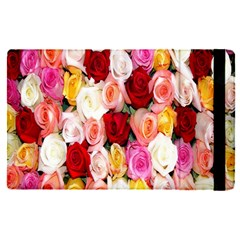Rose Color Beautiful Flowers Apple Ipad Pro 9 7   Flip Case by BangZart