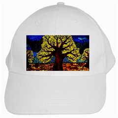 Tree Of Life White Cap by BangZart