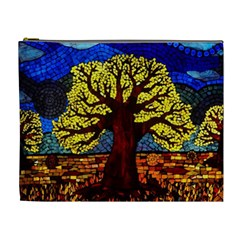 Tree Of Life Cosmetic Bag (xl) by BangZart