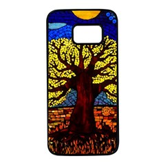Tree Of Life Samsung Galaxy S7 Black Seamless Case by BangZart