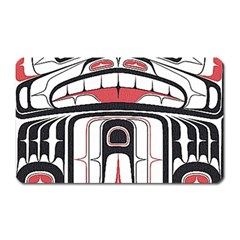 Ethnic Traditional Art Magnet (rectangular) by BangZart