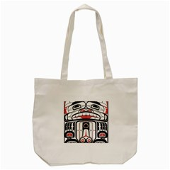 Ethnic Traditional Art Tote Bag (cream)