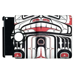 Ethnic Traditional Art Apple Ipad 2 Flip 360 Case by BangZart
