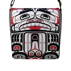 Ethnic Traditional Art Flap Messenger Bag (l)  by BangZart