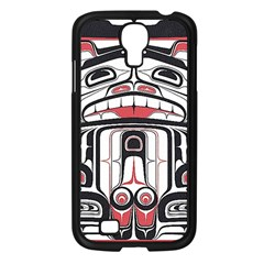 Ethnic Traditional Art Samsung Galaxy S4 I9500/ I9505 Case (black)