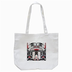 Ethnic Traditional Art Tote Bag (white)