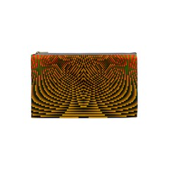 Fractal Pattern Cosmetic Bag (small)
