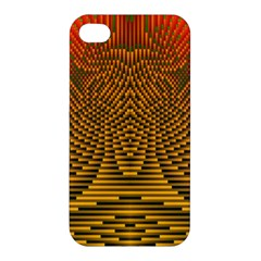 Fractal Pattern Apple Iphone 4/4s Hardshell Case by BangZart