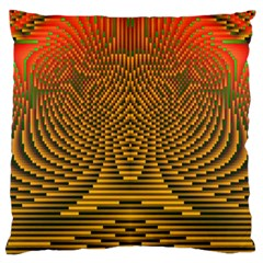 Fractal Pattern Standard Flano Cushion Case (one Side)