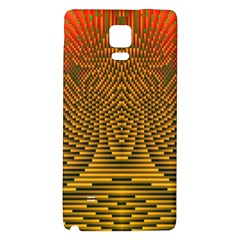 Fractal Pattern Galaxy Note 4 Back Case by BangZart