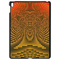 Fractal Pattern Apple Ipad Pro 9 7   Black Seamless Case by BangZart