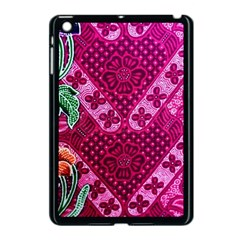 Pink Batik Cloth Fabric Apple Ipad Mini Case (black)