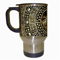Gold Roman Shield Costume Travel Mugs (white) by BangZart