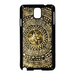 Gold Roman Shield Costume Samsung Galaxy Note 3 Neo Hardshell Case (black) by BangZart
