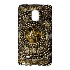 Gold Roman Shield Costume Galaxy Note Edge by BangZart