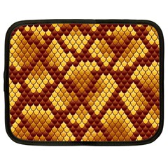 Snake Skin Pattern Vector Netbook Case (xl)