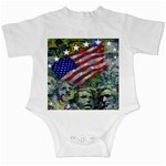 Usa United States Of America Images Independence Day Infant Creepers Front