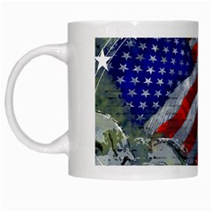 Usa United States Of America Images Independence Day White Mugs by BangZart