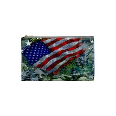 Usa United States Of America Images Independence Day Cosmetic Bag (small)  by BangZart