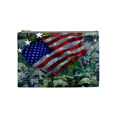 Usa United States Of America Images Independence Day Cosmetic Bag (medium)