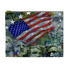 Usa United States Of America Images Independence Day Cosmetic Bag (xl) by BangZart