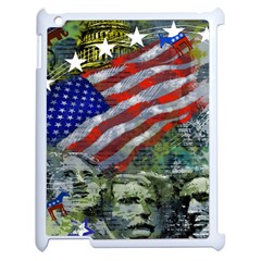 Usa United States Of America Images Independence Day Apple Ipad 2 Case (white) by BangZart