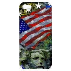 Usa United States Of America Images Independence Day Apple Iphone 5 Hardshell Case by BangZart