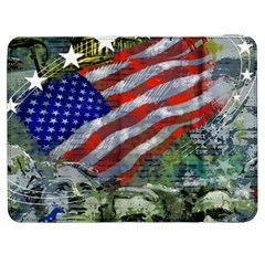 Usa United States Of America Images Independence Day Samsung Galaxy Tab 7  P1000 Flip Case