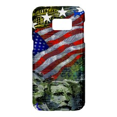 Usa United States Of America Images Independence Day Samsung Galaxy S7 Hardshell Case  by BangZart