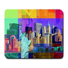 New York City The Statue Of Liberty Large Mousepads