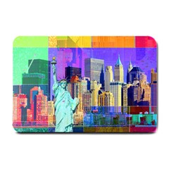 New York City The Statue Of Liberty Small Doormat