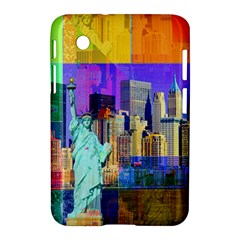 New York City The Statue Of Liberty Samsung Galaxy Tab 2 (7 ) P3100 Hardshell Case