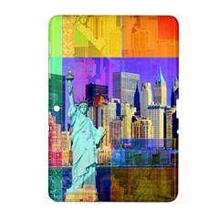 New York City The Statue Of Liberty Samsung Galaxy Tab 2 (10 1 ) P5100 Hardshell Case