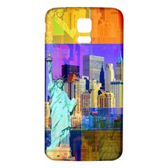 New York City The Statue Of Liberty Samsung Galaxy S5 Back Case (white)