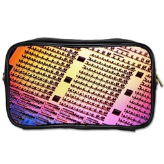 Optics Electronics Machine Technology Circuit Electronic Computer Technics Detail Psychedelic Abstra Toiletries Bags
