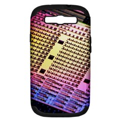 Optics Electronics Machine Technology Circuit Electronic Computer Technics Detail Psychedelic Abstra Samsung Galaxy S Iii Hardshell Case (pc+silicone)