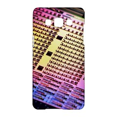 Optics Electronics Machine Technology Circuit Electronic Computer Technics Detail Psychedelic Abstra Samsung Galaxy A5 Hardshell Case
