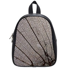Sea Fan Coral Intricate Patterns School Bags (small)  by BangZart