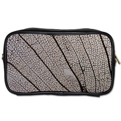 Sea Fan Coral Intricate Patterns Toiletries Bags 2 Side